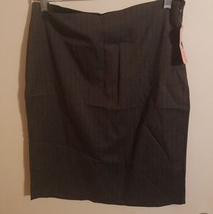 Speachless Pin Stripe Skirt Pencil style size 7